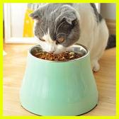 春季上新 狗狗高腳碗泰迪斗牛貓咪飯盆食碗喝水碗小中型犬高架碗貓碗飯餐桌
