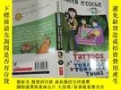 二手書博民逛書店Tattoos,罕見Telltales and Terrible, Terrible Twins紋身,告密者和可怕