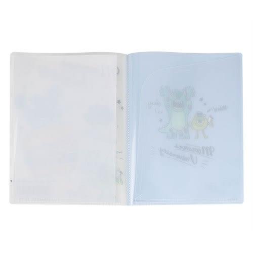 DISNEY 怪獸大學 10層檔案資料夾(手繪速食)★funbox★KAMIO_KM84149