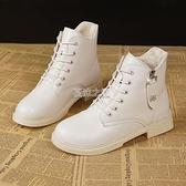馬丁靴女英倫風學生新款ins網紅短靴韓版百搭厚底靴子女