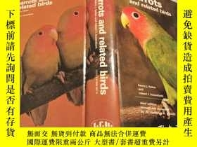 二手書博民逛書店【罕見】1978年三版 Parrots and Related