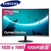 【南紡購物中心】Samsung 三星 C27T550FDC 27型 VA面板 1000R曲面設計 電競螢幕