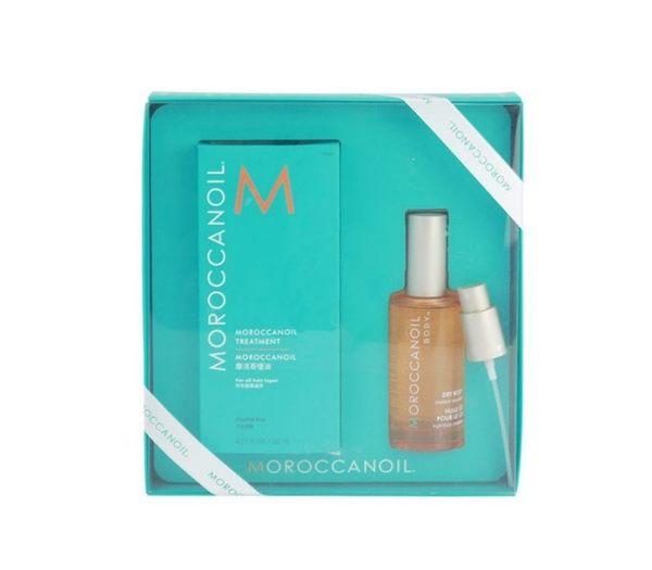 岡山戀香水~Moroccan Oil 摩洛哥優油125ml+輕盈身體護膚油50ml禮盒組~優惠價:1150元