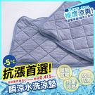 涼感 -5度C/枕巾 枕頭保潔墊1入/瞬...