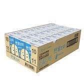 統一蜜豆奶-牛奶250ml*24入/箱【愛買】