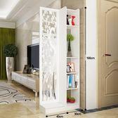 原創現代簡約孔雀雙面間廳玄關櫃隔斷置物架屏風裝飾櫃隔斷櫃