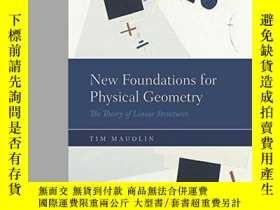 二手書博民逛書店New罕見Foundations For Physical GeometryY364682 Tim Maudl