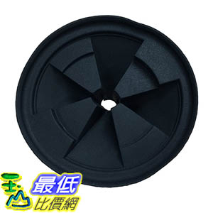 [106美國直購] Durable Replacement Quiet Collar Black Sink Baffle, Fits InSinkErator Evolution Disposal, Part QCB-AM