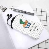 筆袋 創意筆袋學生文具收納袋手帳伴侶大容量筆袋