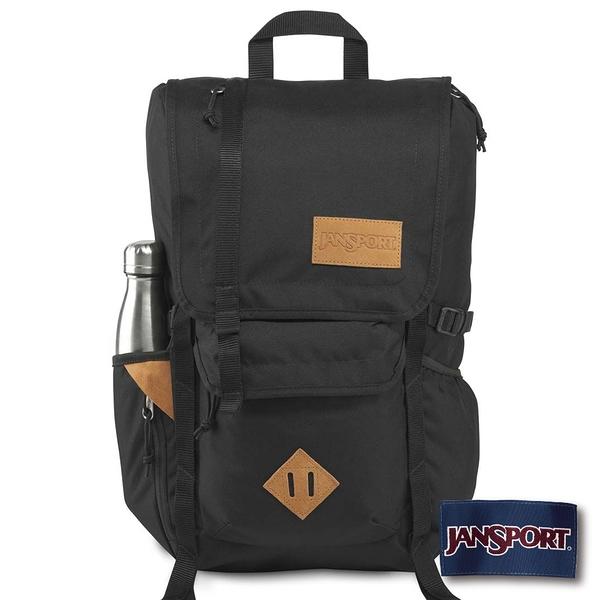 【JANSPORT】HATCHET系列後背包 -黑(JS-42010)