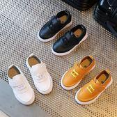 2018春秋季新款兒童運動鞋小白鞋男童鞋女童休閒鞋中大童白色板鞋-Ifashion