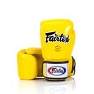『VENUM旗艦館』8oz Fairtex 健身房 拳擊手套~重擊打沙袋 拳套~ 真皮拳套 - 經典款 黃色 BGV1