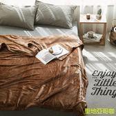 毛毯法蘭絨被子單人珊瑚絨毯子加厚冬季單件加絨150X230cm(1.4kg)