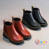 兒童二棉鞋2018秋冬季男童棉鞋刷毛皮質小短靴冬鞋女童鞋保暖棉靴