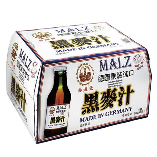 崇德發黑麥汁250ml*20瓶【愛買】