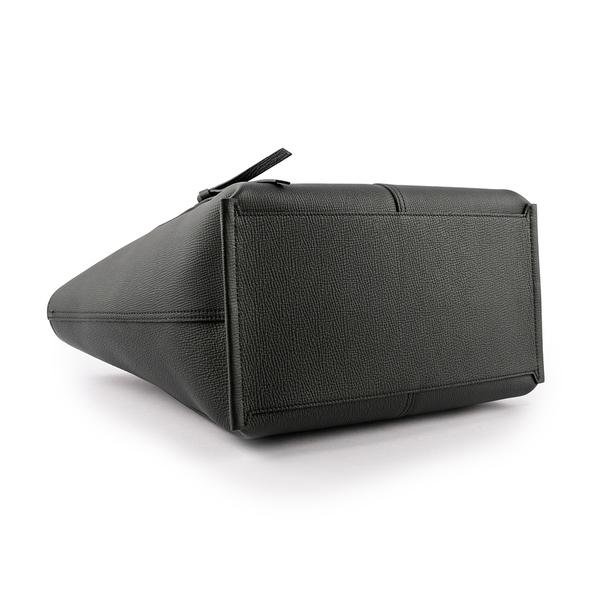 【LONGCHAMP】L號 MAILBOX 牛皮手提包(黑色) 10105 HTA 001