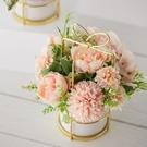 花束 ins北歐仿真花假花擺件塑料絹花家居裝飾擺設客廳擺花藝套裝