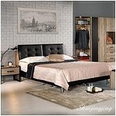【水晶晶家具/傢俱首選】JM1601-2格雷森5尺準低甲醛被櫥式雙人床(不含床墊)~~降價囉!!