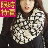 羊毛圍巾-針織細緻清新防寒秋冬男女圍脖5色61y80【巴黎精品】