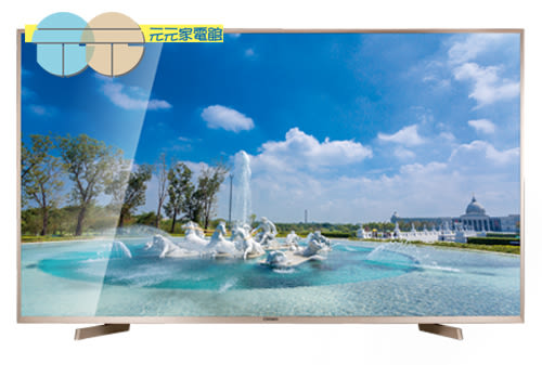 【CHIMEI奇美】55吋4K廣色域智慧聯網顯示器+視訊盒 TL-55W800 (含限區配送+基本安裝)