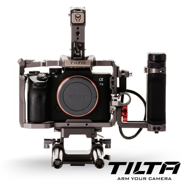 【聖影數位】TILTA 鐵頭 TA-T17 兔籠 含把手 大師版本 / Sony A7RIII A7RIV A9 適用 (TA-T17-C-G) 公司貨