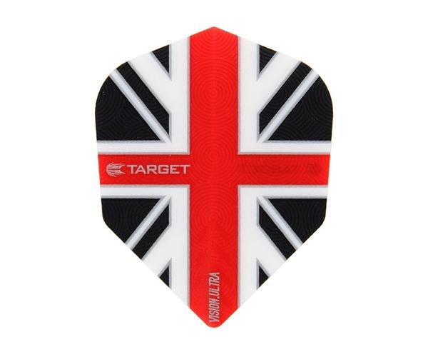 【TARGET】VISION ULTRA SHAPE UnionJack ClearRed 331430 鏢翼 DARTS