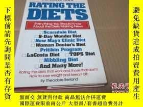 二手書博民逛書店RATING罕見THE DIETS【英文版】Y23728