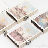 密碼本子小學生多功能筆記本帶鎖的兒童日記本成人韓國創意小清新復古文藝記事本  居家物語