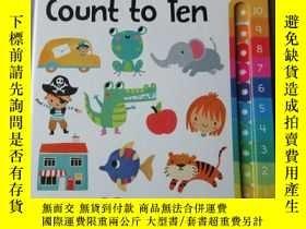 二手書博民逛書店One罕見by One Count to TenY21478 S