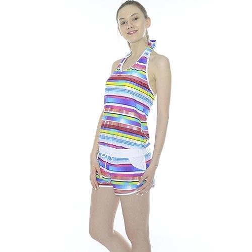 【南紡購物中心】【Bich Loan】連身二件式泳裝附泳帽13007302