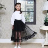 女童蓬蓬公主裙半身裙紗裙童裝夏