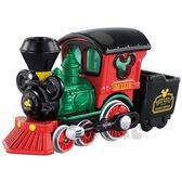 〔小禮堂〕迪士尼 米奇 TOMICA小汽車《DM-02.火車頭》公仔.玩具.模型 4904810-11567
