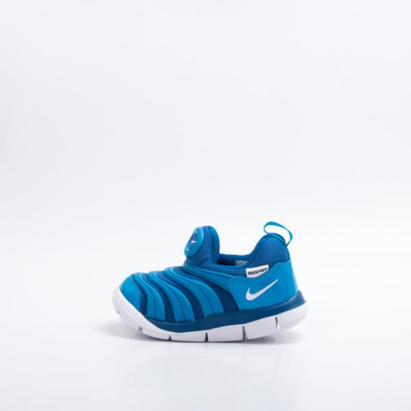 NIKE DYNAMO FREE PRINT 毛毛蟲鞋-藍 343938419