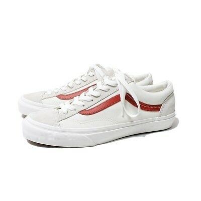 Vans Style 36 Old Skool 白 紅 紅線 滑板鞋 GD著用款 VN0A3DZ3OXS