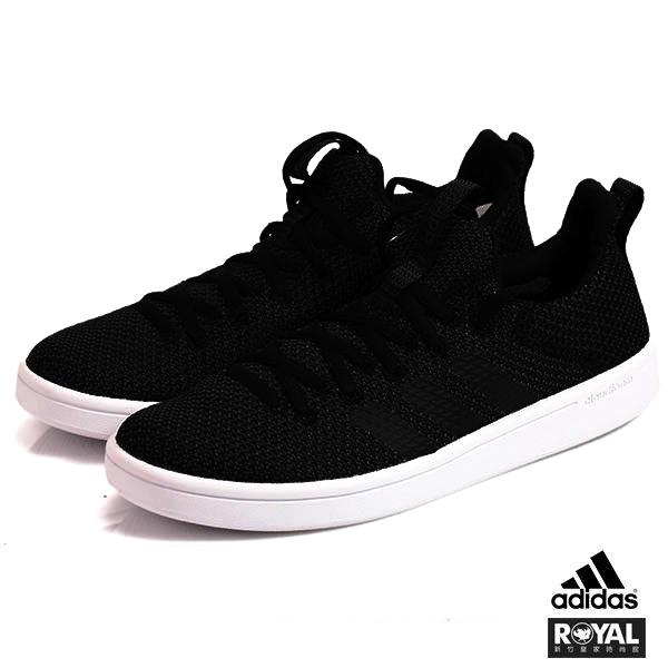 Adidas 新竹皇家 ADV ADAPT 黑色 網布 套入式 慢跑運動鞋 男女款 NO.A9820