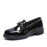 ins小皮鞋女學生韓版百搭軟妹2020新款秋季復古漆皮英倫黑色單鞋 東京衣櫃