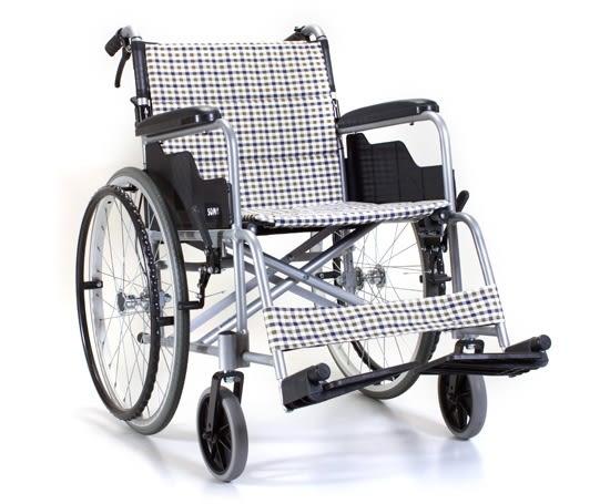 康揚 KARMA SM-150.2 手動鋁合金輪椅 入門基本款 冬夏兩用 可折背