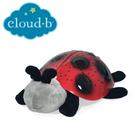 美國cloud b 安睡瓢蟲星光夜燈-紅黑色 CLB7353-ZZ