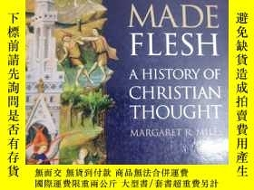 二手書博民逛書店英文原版:The罕見Word Made Flesh A Hisstory of ChristianThought