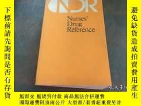 二手書博民逛書店nurses罕見drug referenceY20470 出版1