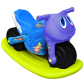 寶貝樂 小爵士摩托車造型學步助步車附搖搖板(藍)【CA-17B-A】(BTCA17BA)
