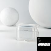 無線藍牙1/2/3代熒光保護套軟Airpods Pro耳機殼適用蘋果【邦邦男裝】