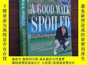 二手書博民逛書店A罕見Good Walk Spoiled( )Y85718 Jo
