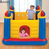 兒童家用充氣城堡玩具魔幻城堡蹦蹦床OU1669『M&G大尺碼』