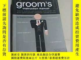 二手書博民逛書店The罕見Groom s Instruction Manual(