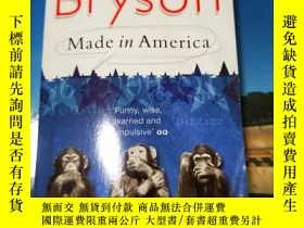 二手書博民逛書店Bill罕見Bryson:Made in AmericaY286