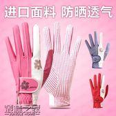 雙十二狂歡購高爾夫球手套女士 防滑顆粒耐磨透氣雙手 防曬高爾夫golf 女款