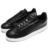 【六折特賣】adidas 休閒鞋 Cloudfoam Advantage Clean 黑 白 皮革 百搭 黑白 基本款 男鞋【PUMP306】 AW3915
