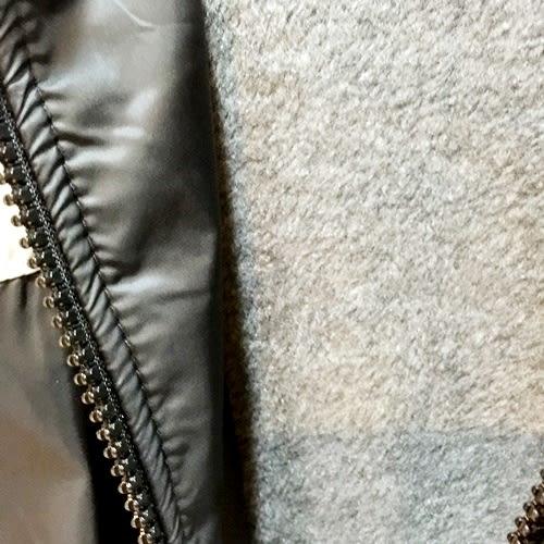 ☆棒棒糖童裝☆秋冬男大童防風內刷毛防風外套 130-150 台灣製造 水藍邊;灰邊