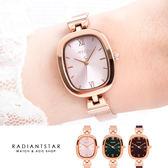 正韓JULIUS愛的輪廓橢圓面金屬米蘭鍊帶手錶【WJA11738】璀璨之星☆